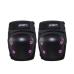 Kit De Proteção Infantil Preto/Rosa – Capacete G / Kit M - Atrio ES185