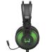Fone Headset Gamer 7.1 USB com Led Verde Warrior Raiko - PH259