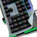 Teclado Gamer Mecânico Warrior RGB LED US TC216