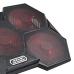 Cooler Colmeia com LED Gamer Warrior Multilaser - AC327