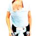 Carregador de Bebê Baby Wrap Sling - Azul - Cuca Criativa