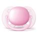Par de Chupetas Ultra Soft Lisa 0-6 Meses Menina Rosa e Roxa - Phillips AVENT SCF213/20