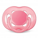 Chupeta Free Flow BPA Free 6-18 meses single pack ROSA Phillips AVENT SCF178/14