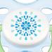 Kit Chupeta Contemporânea BPA Free 0-6 meses 2 Unidades AZUL SCF180/23