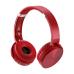 Headphone Premium Bluetooth SD / AUX / FM Vermelho Multilaser - PH266