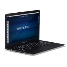 Notebook Legacy Intel Tela de 14.1 Full HD Linux RAM 4 GB Preto Multilaser - PC210