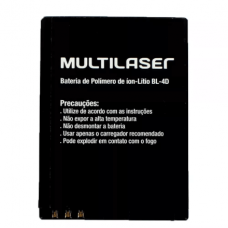 Bateria Celular BL-4D - VITA / VITA II (P9016, P9048) Multilaser - PR065