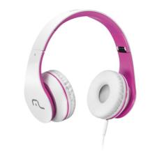 Headphone com Microfone para Celular Rosa Multilaser - PH114