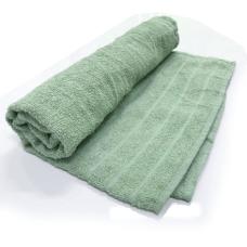 Toalha De Banho modelo Barra Cor Verde 68cm X 1,28m