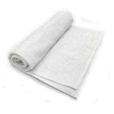 Toalha De Banho Barra Cor Branca 68cm X 1,28m