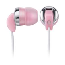 Multilaser Fone de Ouvido Intra-Auricular Sport PH018 Branco/Rosa