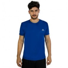 Camiseta Color Dry Workout SS CST-300 - Masculino - P - Azul - Muvin