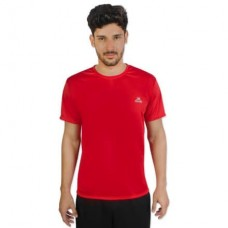 Camiseta Color Dry Workout SS CST-300 - Masculino - G - Vermelho - Muvin